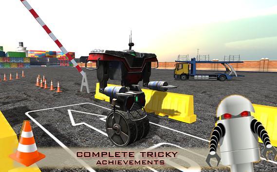 Super Hero Robot Parking screenshot 1