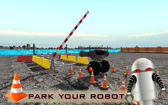 Super Hero Robot Parking screenshot 2