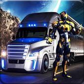 Robot Transport Truck icon