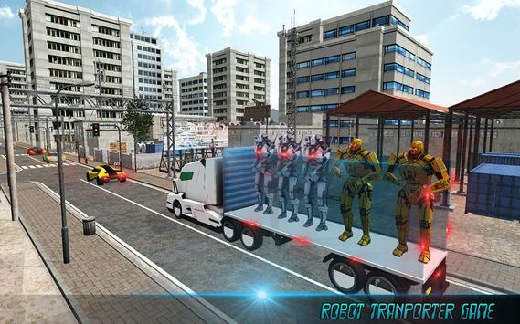 Robot Transport Truck poster