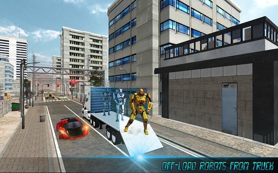 Robot Transport Truck screenshot 4