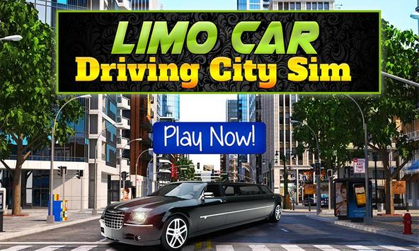 Limo Car Driving City Sim poster