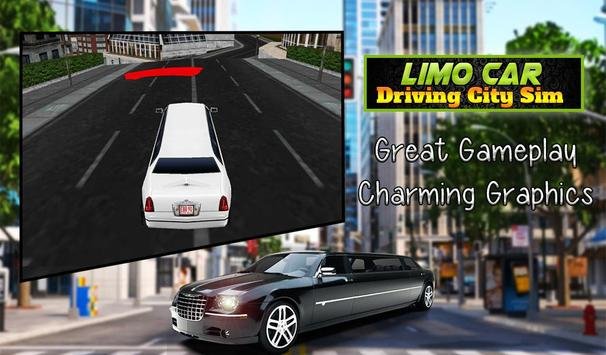 Limo Car Driving City Sim screenshot 14