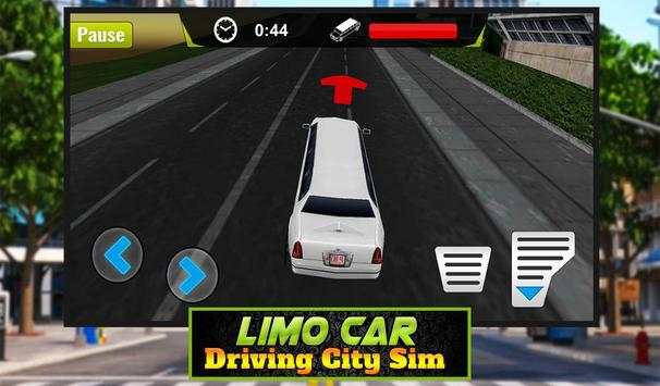 Limo Car Driving City Sim screenshot 11