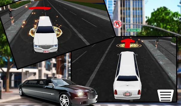 Limo Car Driving City Sim screenshot 12