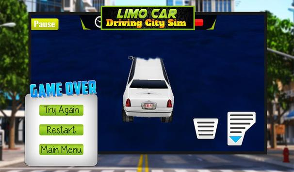 Limo Car Driving City Sim screenshot 13