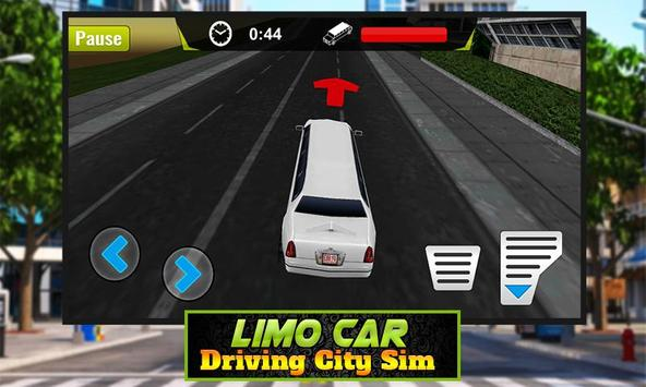 Limo Car Driving City Sim screenshot 1