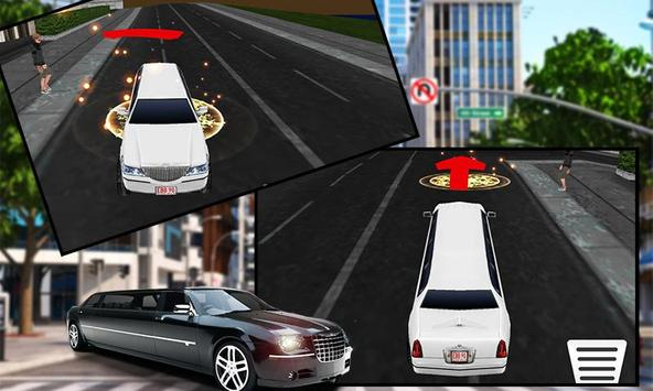 Limo Car Driving City Sim screenshot 2