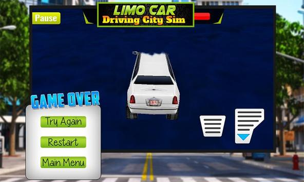 Limo Car Driving City Sim screenshot 3