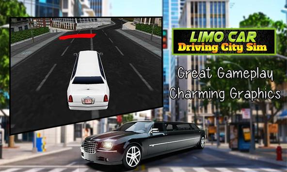 Limo Car Driving City Sim screenshot 4