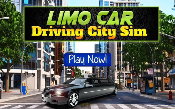 Limo Car Driving City Sim screenshot 5