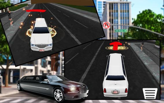 Limo Car Driving City Sim screenshot 7