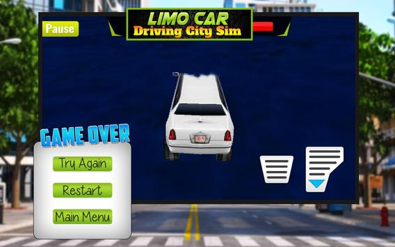 Limo Car Driving City Sim screenshot 8