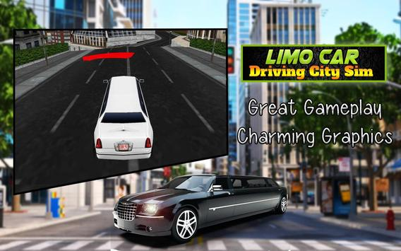 Limo Car Driving City Sim screenshot 9