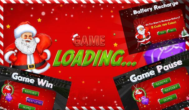 Santa Hoverboard Gift Delivery apk screenshot