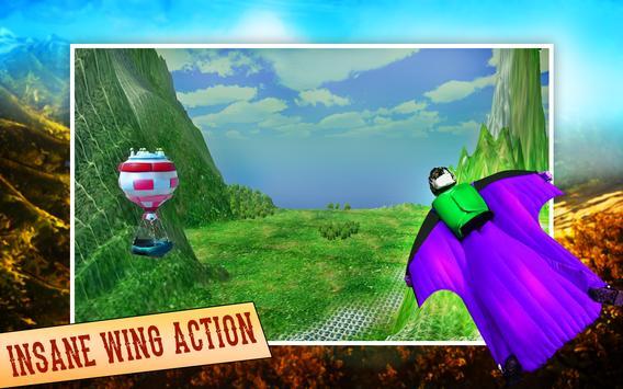 Super Wingsuit Adventure Sim apk screenshot