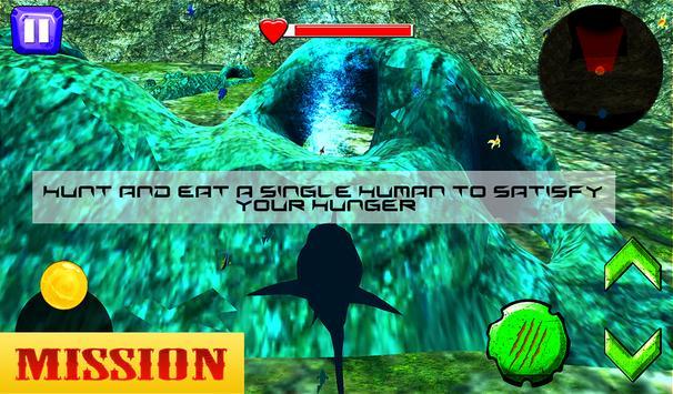 Tubarão com fome real imagem de tela 13