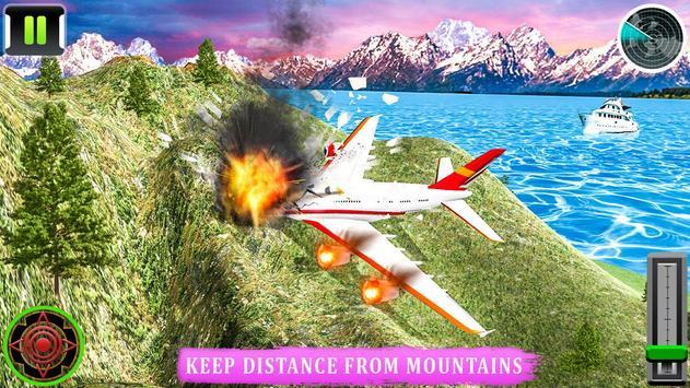 Flying Airplane Pilot Flight 3d Plane Simulator screenshot 10