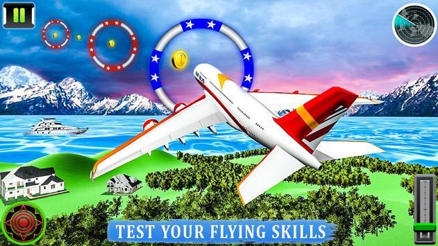 Flying Airplane Pilot Flight 3d Plane Simulator screenshot 2