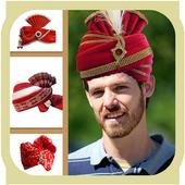 Men Turban Fashion Photo Frame icon
