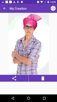 Men Turban Fashion Photo Frame screenshot 3