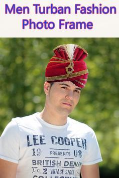 Men Turban Fashion Photo Frame screenshot 1