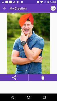Men Turban Fashion Photo Frame screenshot 2