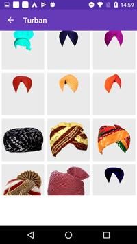 Men Turban Fashion Photo Frame screenshot 4