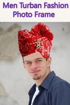Men Turban Fashion Photo Frame screenshot 5