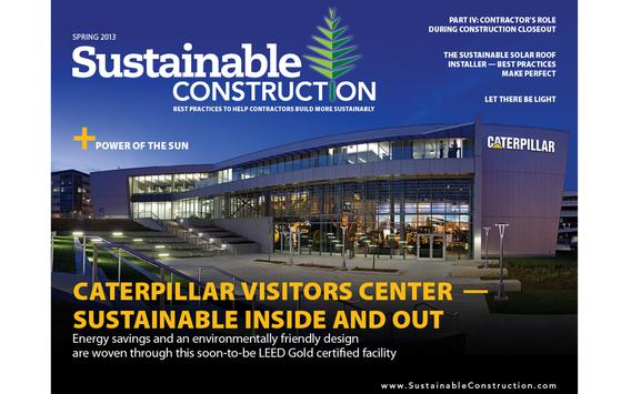 Sustainable Construction poster