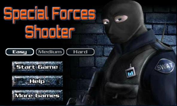 Special Forces Shooter poster