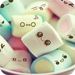Cute Marshmallow cartoon Theme for android free