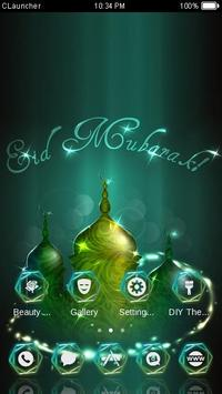 Eid Mubarak CLauncher Theme apk screenshot