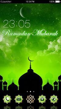 Ramadan Kareem Muslim Theme poster