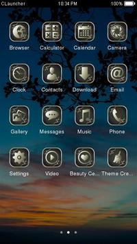 Best Sunset Theme C Launcher apk screenshot