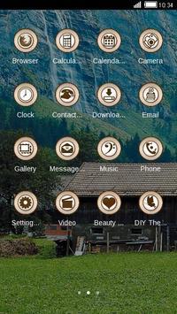 Waterfall Nature Theme HD apk screenshot