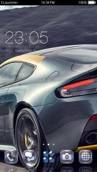 Fast Car Theme C Launcher poster