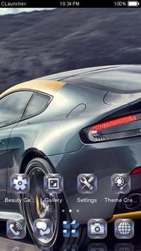 Fast Car Theme C Launcher apk screenshot