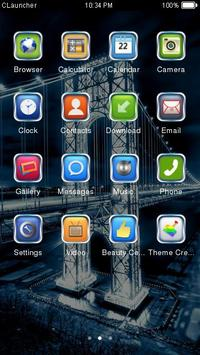 Best Bridge Theme C Launcher apk screenshot