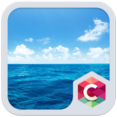 Blue Water Theme C Launcher icon