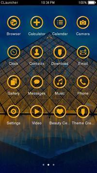Paris The Louvre Theme apk screenshot