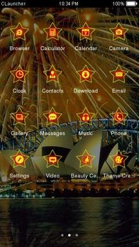 Best Sydney Fireworks Theme apk screenshot
