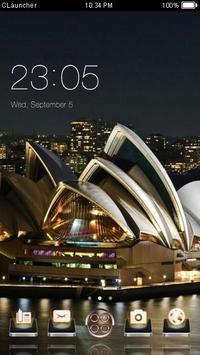 Best Sydney Theme C Launcher poster