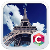 Paris Eiffel Tower Theme icon