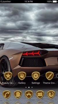 Bronze Car Theme C Launcher apk screenshot