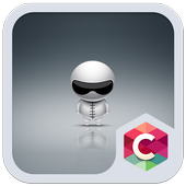 Cute Robot Launcher Theme icon