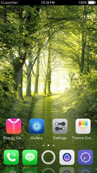 Best Forest Theme C Launcher apk screenshot