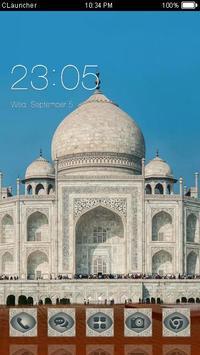 India Taj Mahal C Launcher poster