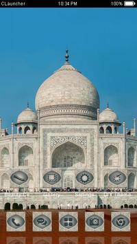 India Taj Mahal C Launcher apk screenshot