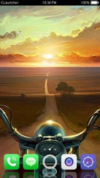 Sunset Road Theme C Launcher poster